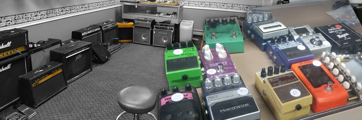 Amps Pedals
